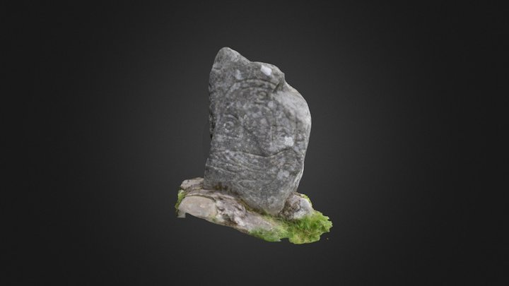 The Eagle Stone 3D Model