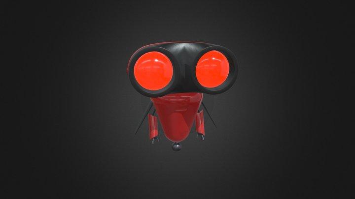 Bot Red 3D Model