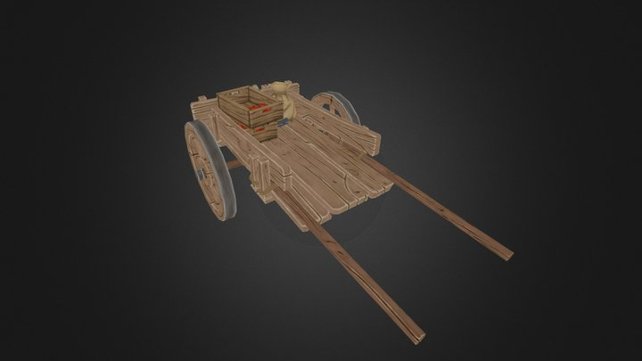 waggon 3D Model