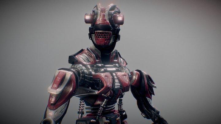 F.L.E.X Robot 3D Model