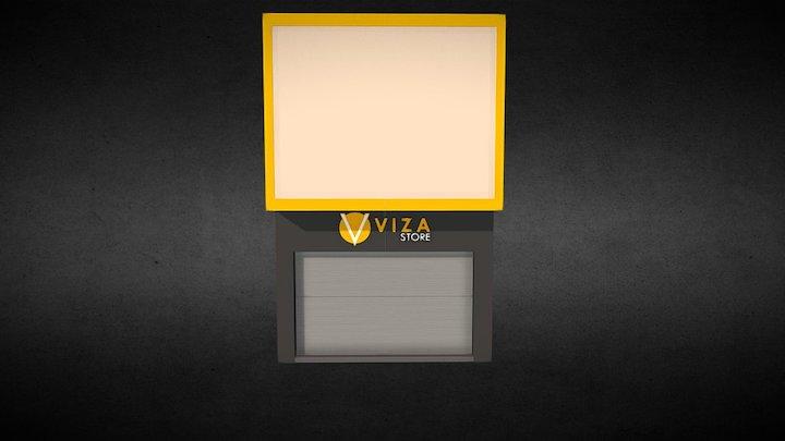 Fachada Viza Store 3D Model