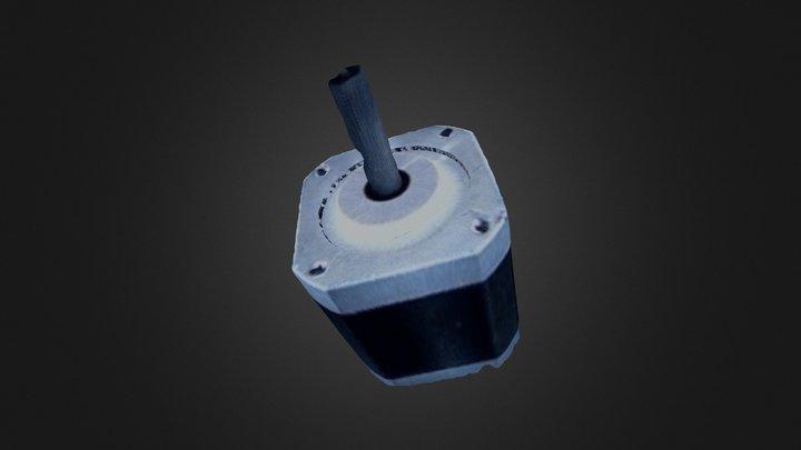 Stepper motor - mesh 3D Model
