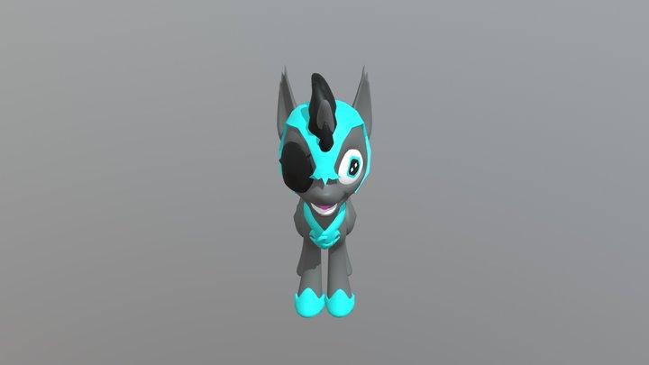MLP OC: SnowNova 3D Model