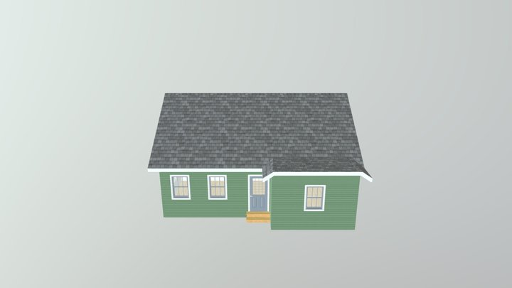 Bungalow The Walton 3D Model
