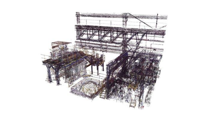Scan 3D industrie 3D Model