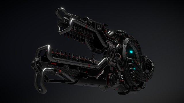 Black Hole Generator 3D Model