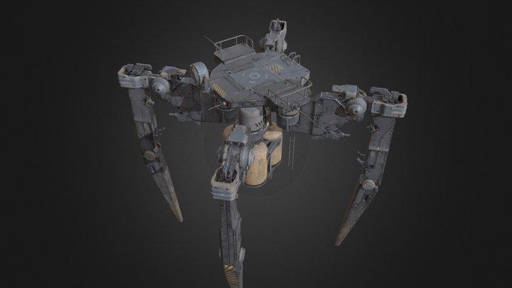 Model523 3D Model