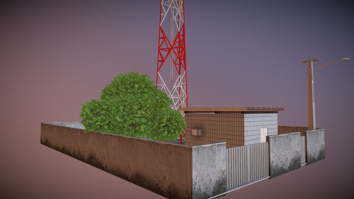 EstaçãoTorre Tabuba 3D Model