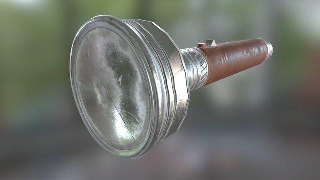 Flashlight_01 3D Model