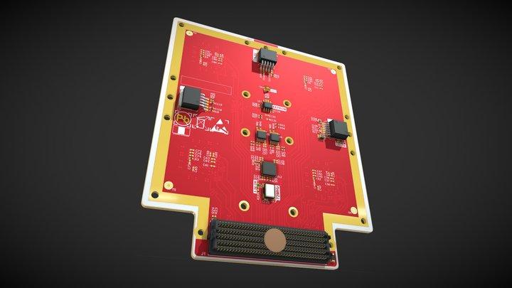 FMC4SIMX183 3D Model
