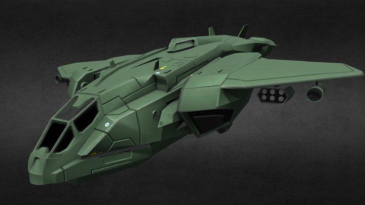 D77-TC Pelican 3D Model