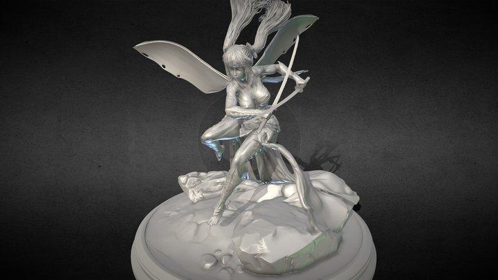 Sword master. 3d Printable 3D Model