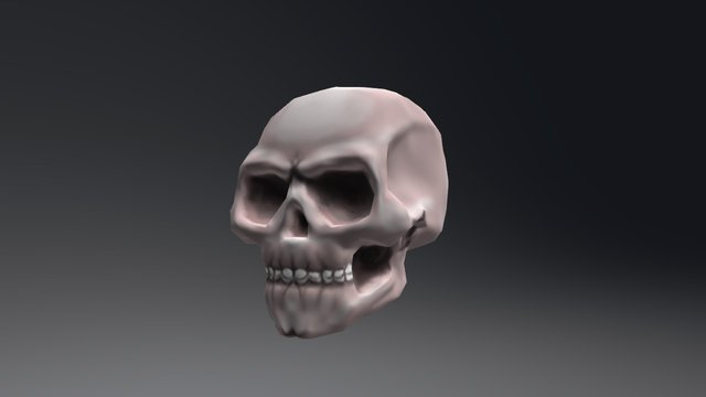 George's stylized skull 3D Model