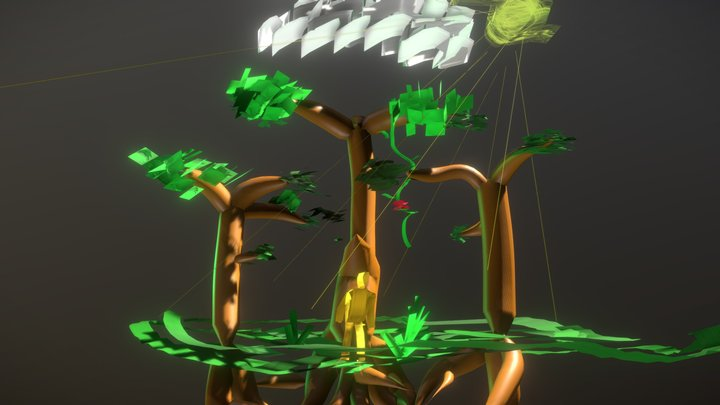 Shared Roots 3D Model
