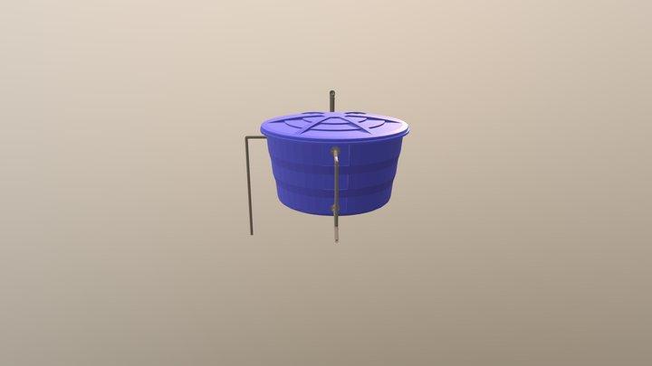 Detalhe Caixa D'agua 3D Model