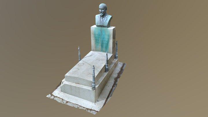 Georges Méliès Sépulture 3D Model