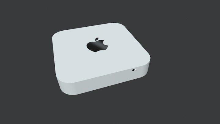 Daily 3D challenge #04 — Mac Mini 3D Model