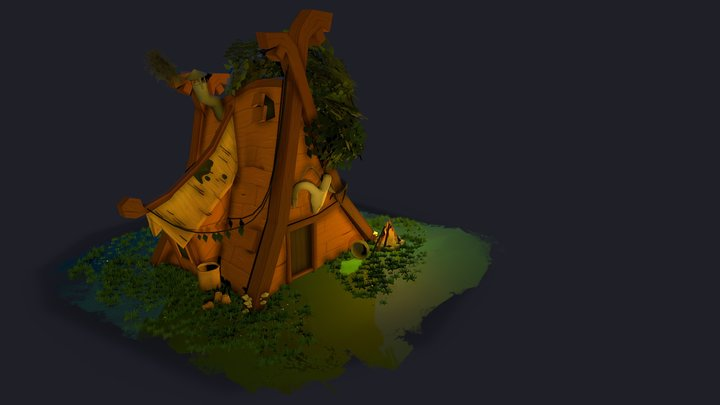 Viking druid 3D Model
