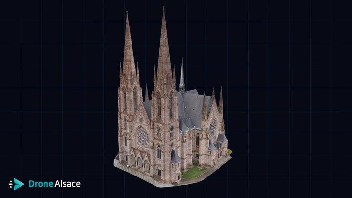 Eglise Saint-Paul - Strasbourg 3D Model