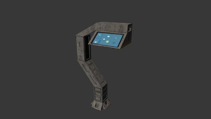 [SoG] Travel terminal 3D Model