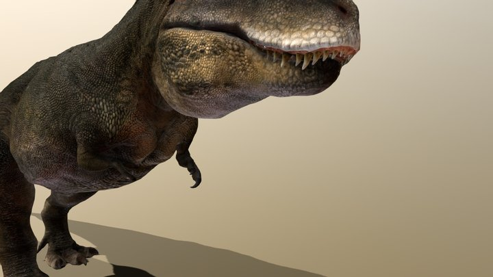 Tarbosaurus 3D Model