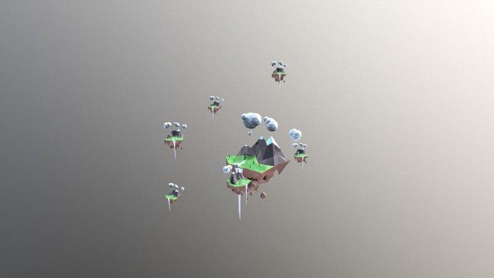 Islands 3D Model
