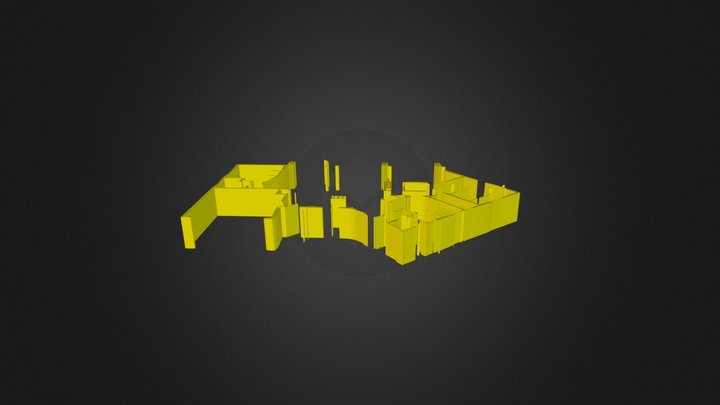AmmoHouse Poet 3dcad layer1a walls 3D Model