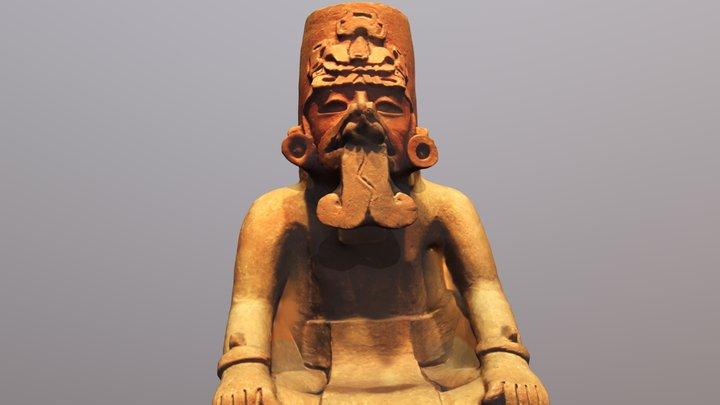 Zapotec Sculpture 3D Model