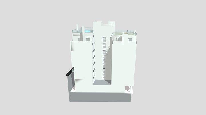 Residencial Buenos Aires en Ermua 3D Model