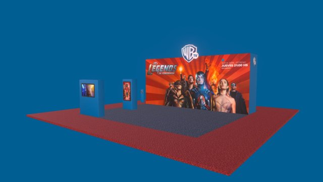 Warner_ACC_May_16 3D Model