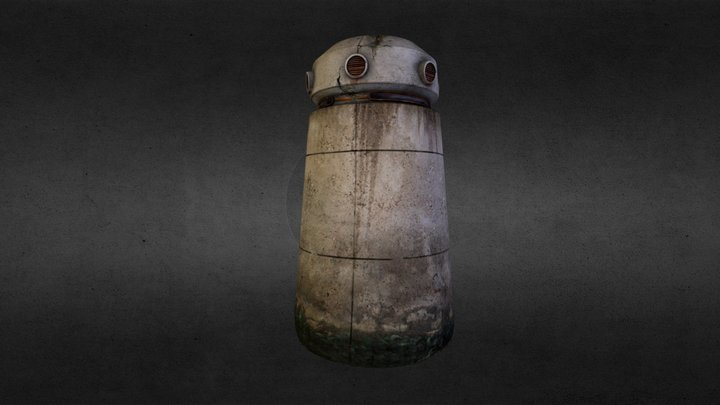 TOWER_LOW05.obj 3D Model