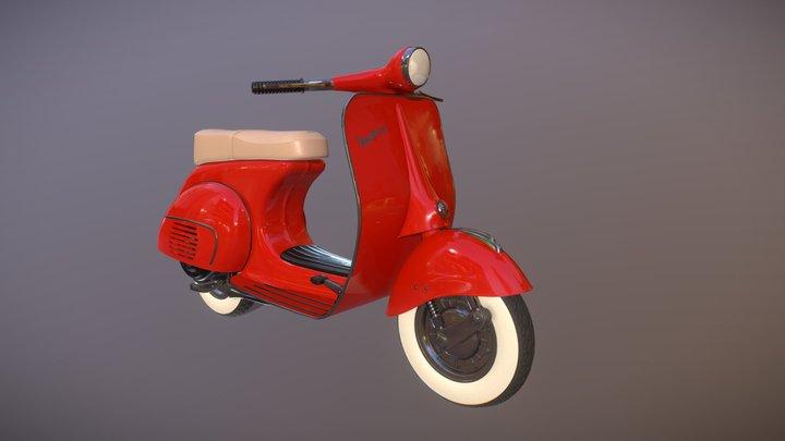 Vespa 150 highpoly 3D Model