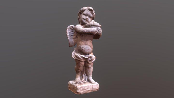 Baby Angel Sculpture 3D Model