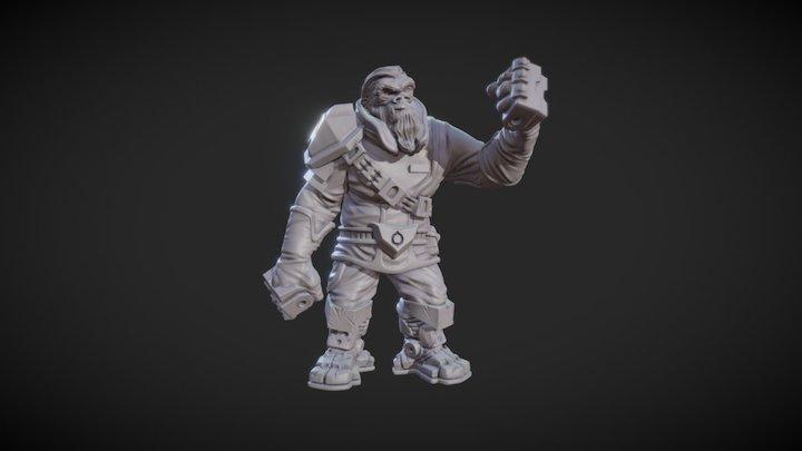 Shayo 3D Model