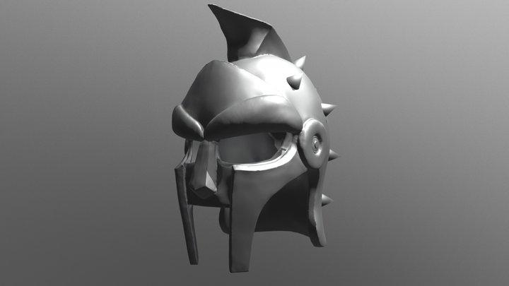 Gladiador Helmet - Maximus Downloadable 3DPrint 3D Model