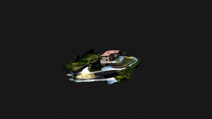 Como Villa 3D Model