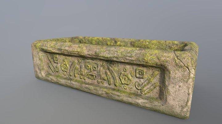 Aztec Sarcophagus 3D Model