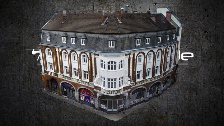 """Fischhalle"" in Aachen/Germany 3D Model"