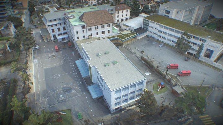 Institut Florimont Photogrammetry 3D Model