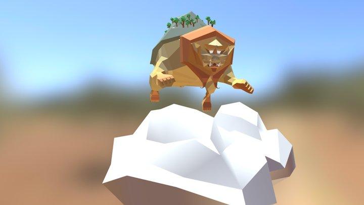 Lionturtle 3D Model