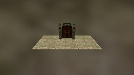TempleDoor_TrialsOfTau 3D Model
