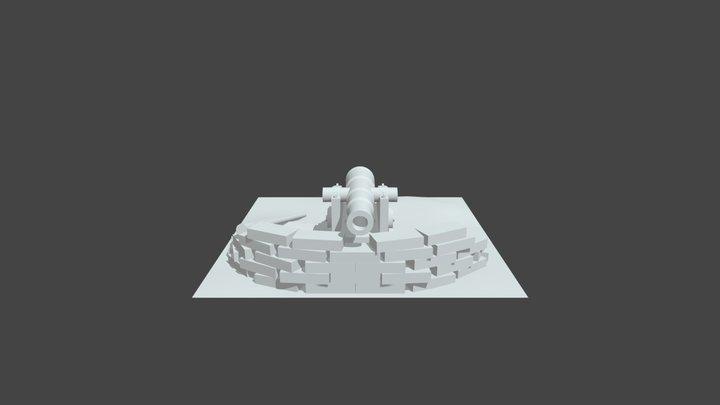 Low Poly Enviroment 3D Model