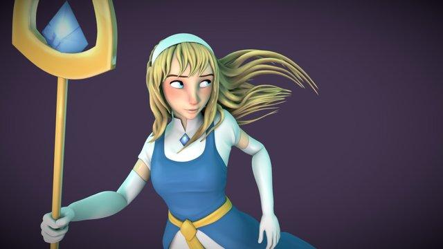 Miranda from Siphon Spirit 3D Model