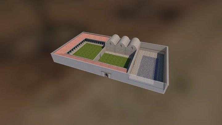 Libarna - Terme 3D Model