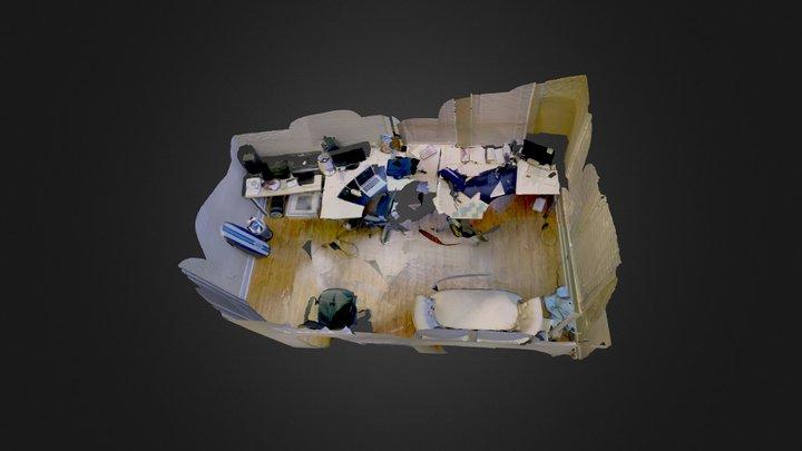Office Scene Model 3D Model