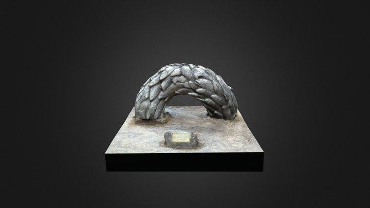 "Estatua ""Unión"" 3D Model"