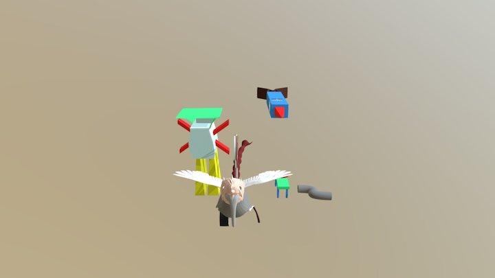 3D Model Doğu's Drawing 3D Model