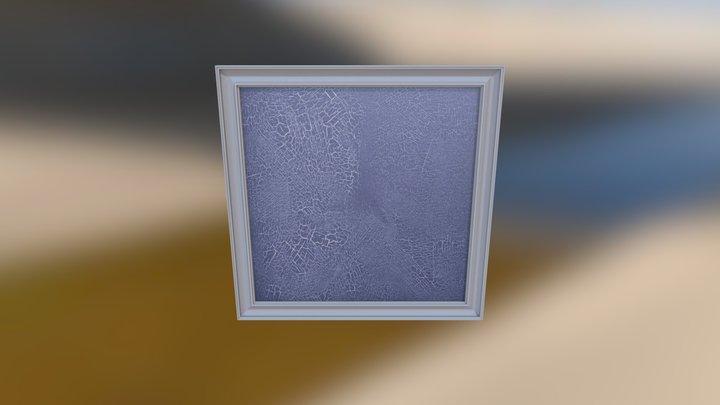 Craquelure 3D Model