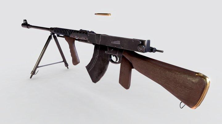 Charlton Rifle 3D Model