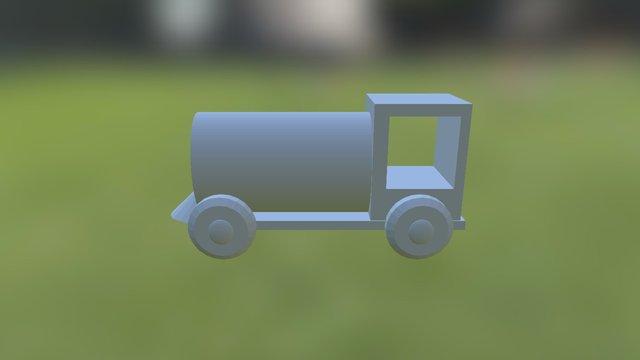 A4 - Train 3D Model